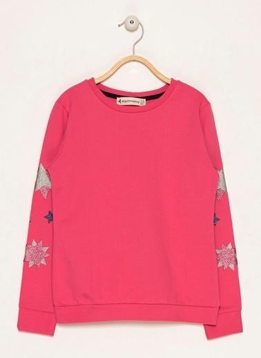 Morhipo Kids Yıldız Baskılı Sweatshirt Kırmızı